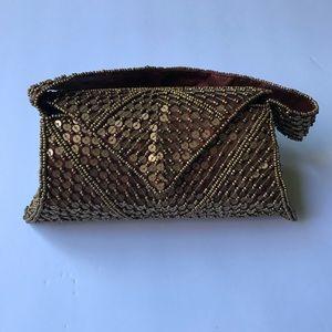 K. C. MALHAN vintage sequin purse Embellished